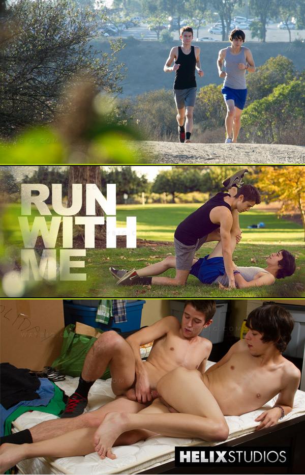 Run with Me (Evan Parker & Matthew Keading) at HelixStudios