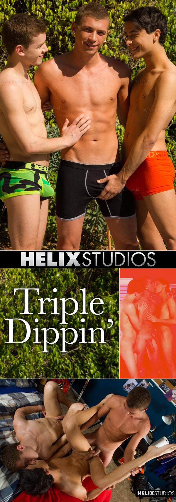 Triple Dippin' (Alex Greene, Ian Levine & Sage Porter) at HelixStudios