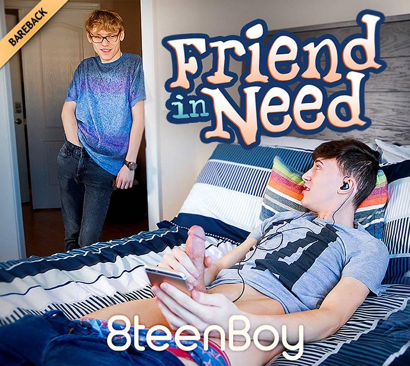 Friend In Need (Cade Russels Fucks Kurt Niles) at 8teenBoy.com