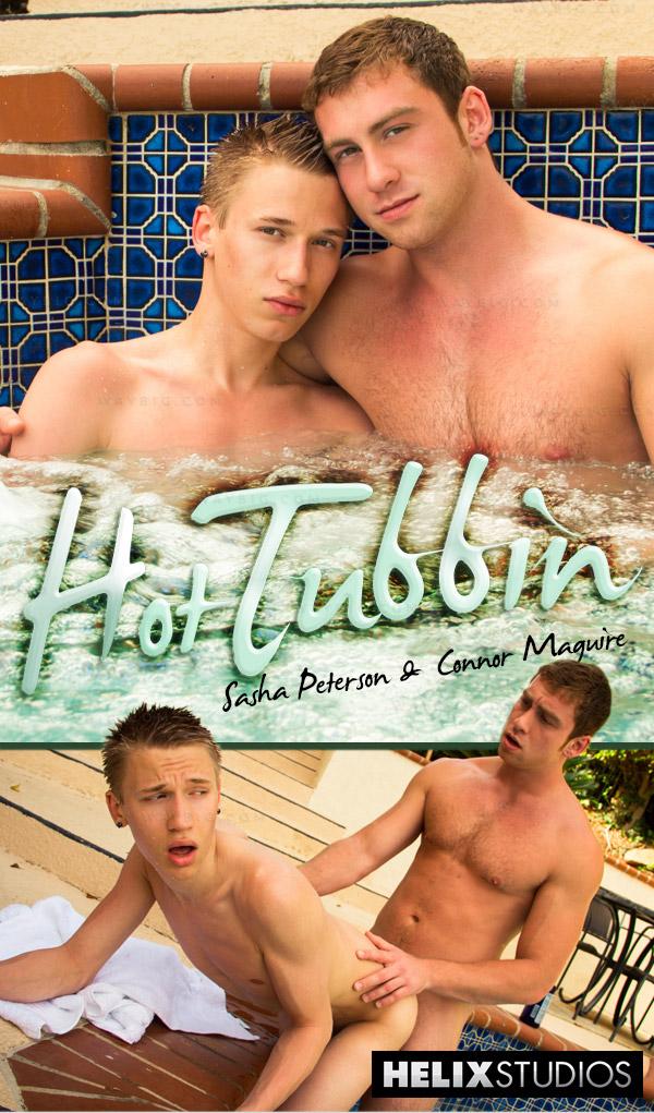 Hot Tubbin' (Sasha Peterson & Connor Maguire) at HelixStudios