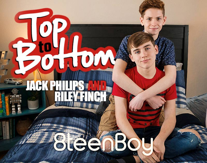 Top To Bottom (Jack Philips and Riley Finch Flip-Fuck) at 8teenBoy.com
