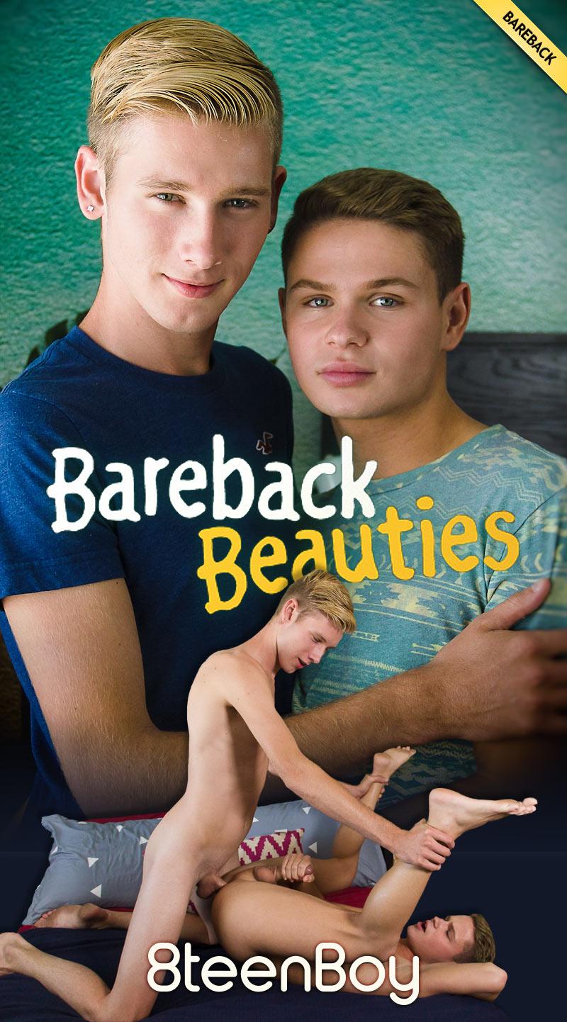 Bareback Beauties (Julian Bell and Dylan Hayes Flip-Fuck) (Bareback) at 8teenBoy.com
