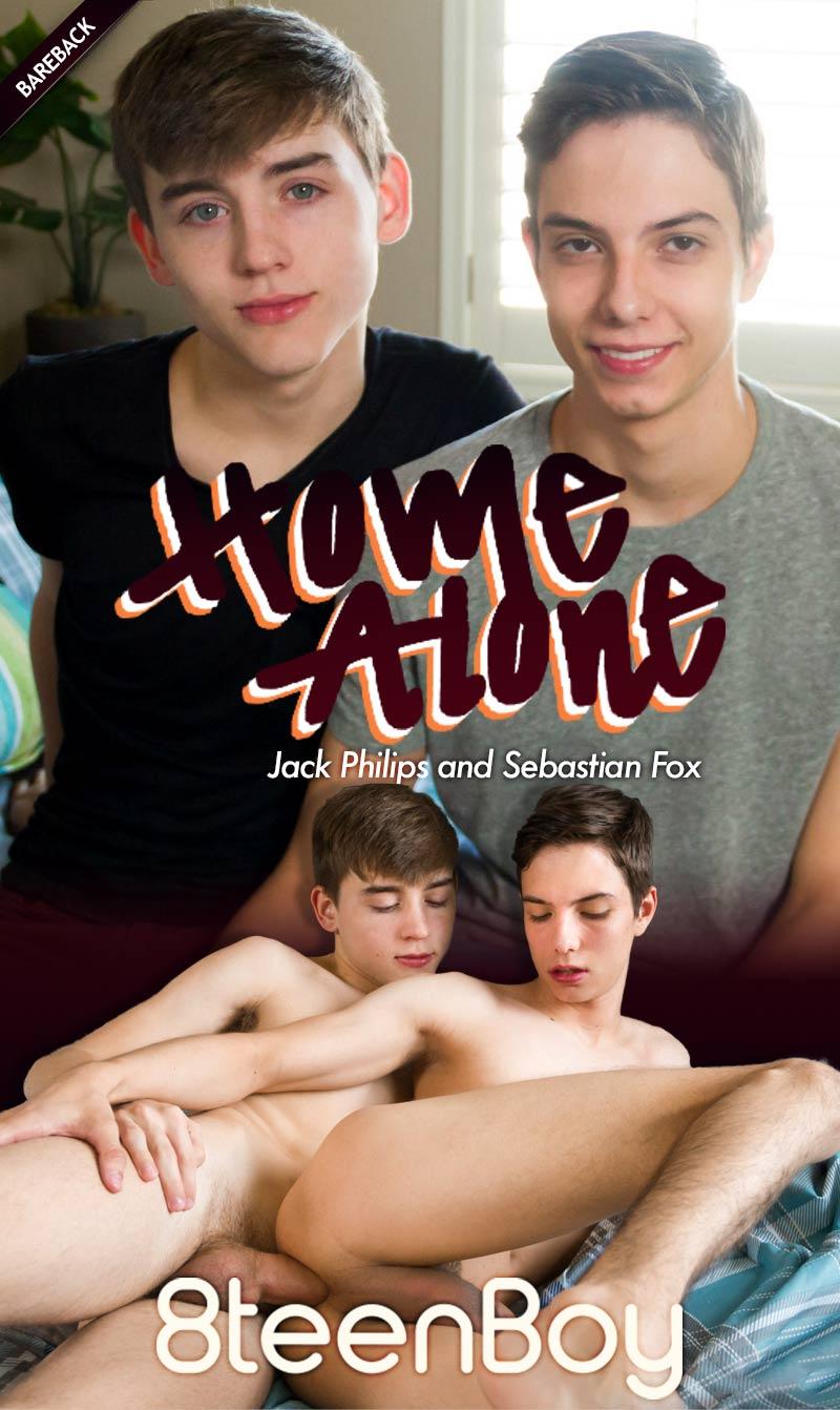 Home Alone (Jack Philips and Sebastian Fox Flip-Fuck) at 8teenBoy.com