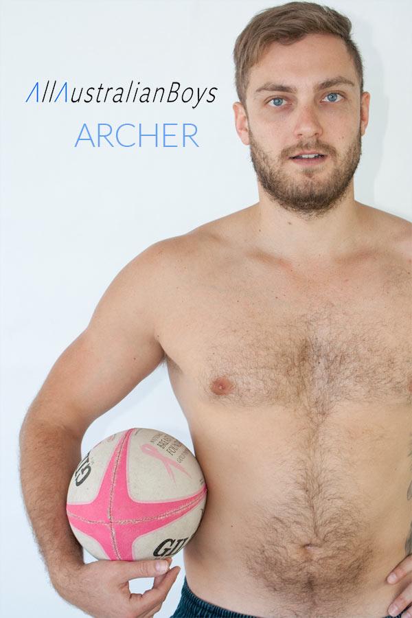 Archer (Aussie Sports Jock) at All Australian Boy