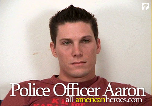 Police Officer Aaron at All-AmericanHeroes