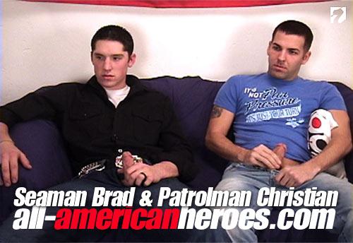 Seaman Brad & Patrolman Christian at All-AmericanHeroes