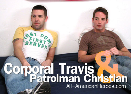 Corporal Travis & Patrolman Christian at All-AmericanHeroes