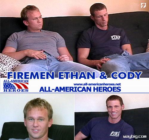 Firemen Ethan & Cody at All-AmericanHeroes