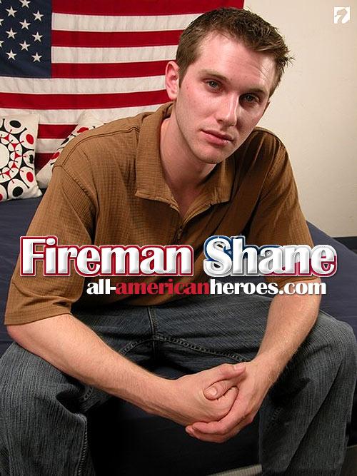 Fireman Shane at All-AmericanHeroes