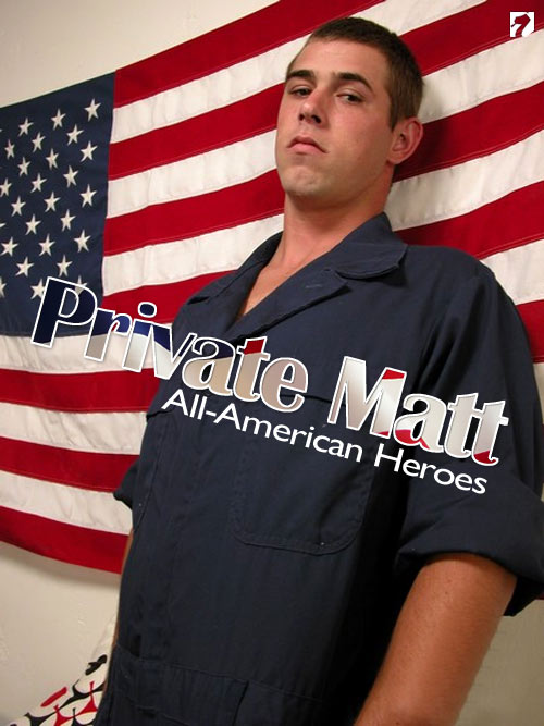 Private Matt at All-AmericanHeroes