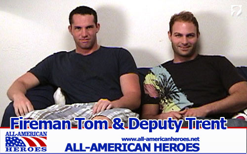 Fireman Tom & Deputy Trent at All-AmericanHeroes