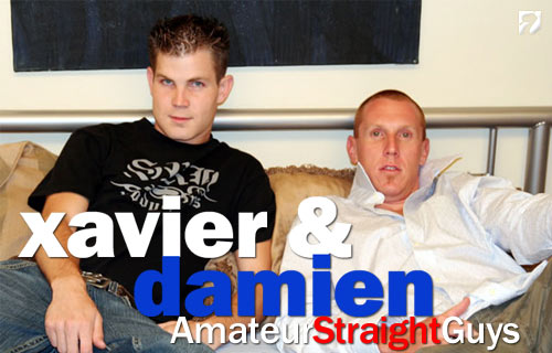 Xavier & Damien at Amateur Straight Guys