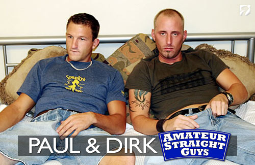 Paul & Dirk at Amateur Straight Guys