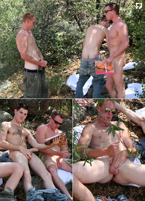 Grant, Damien & Xavier at Amateur Straight Guys