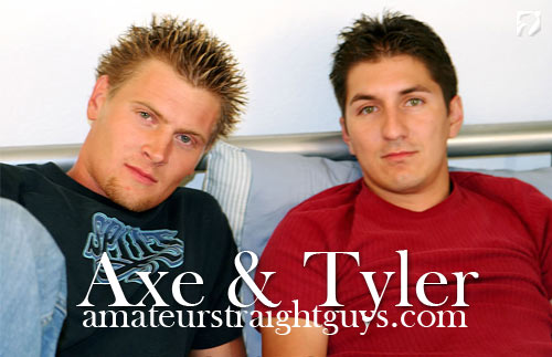 Axe & Tyler at Amateur Straight Guys