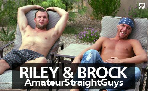 Riley & Brock at Amateur Straight Guys