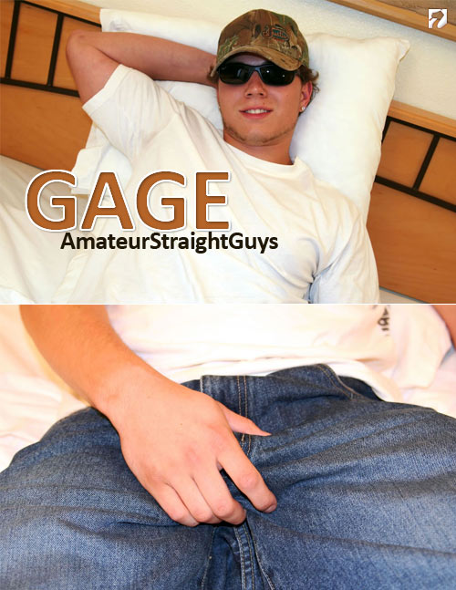 Gage at Amateur Straight Guys