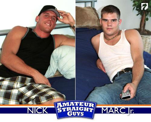 Mark Jr. & Nick at Amateur Straight Guys