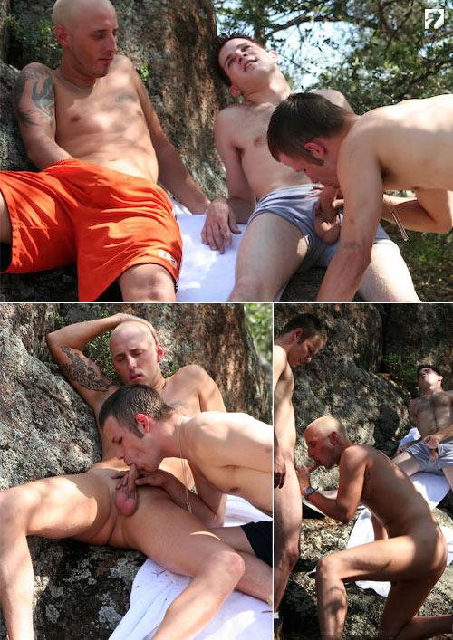 Dirk, Guzzo & Xavier at Amateur Straight Guys