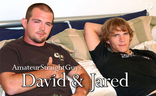 David & Jared at Amateur Straight Guys