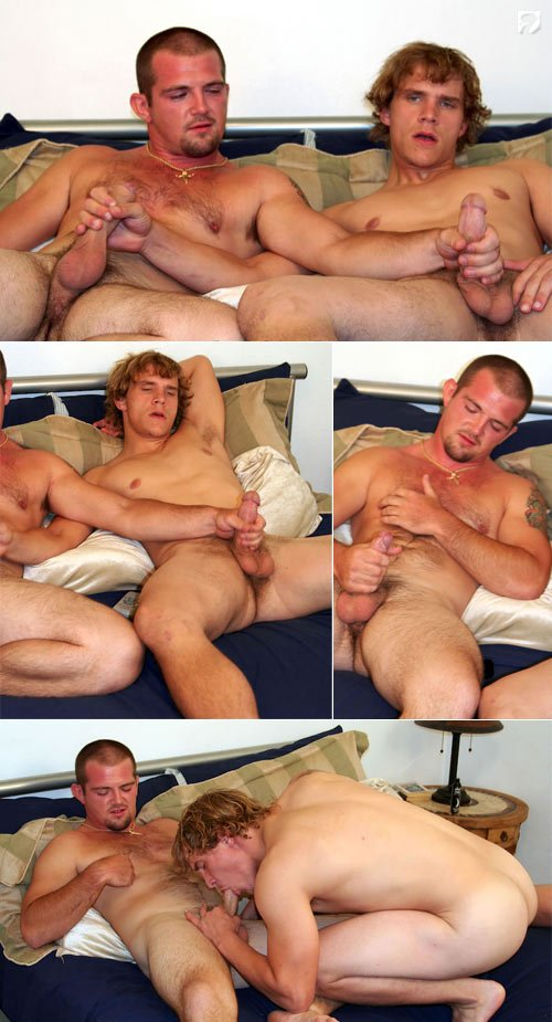 David & Jared at Amateur Straight Guys