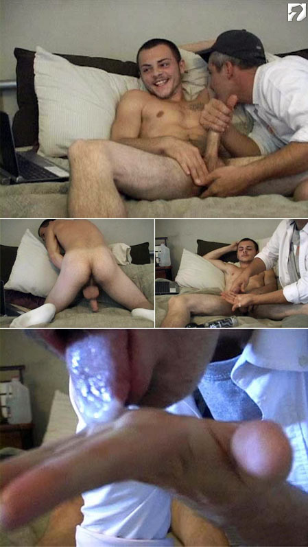Giovanni and Doug at Amateur Straight Guys