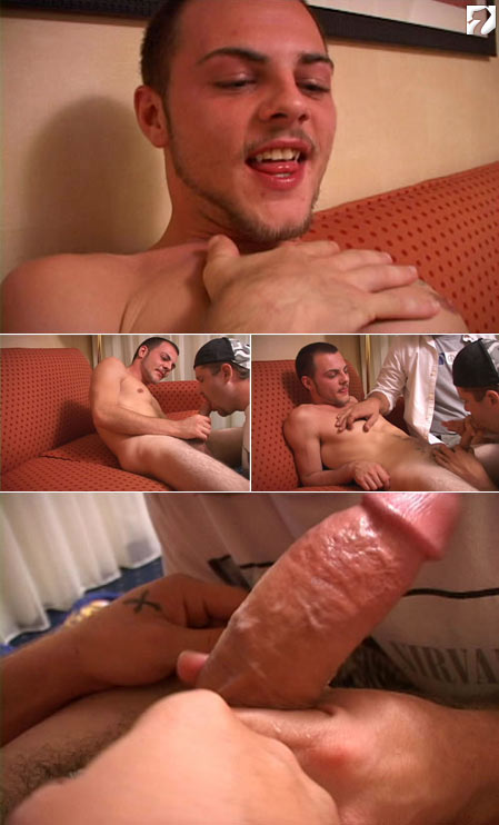 Giovanni and Jay at Amateur Straight Guys