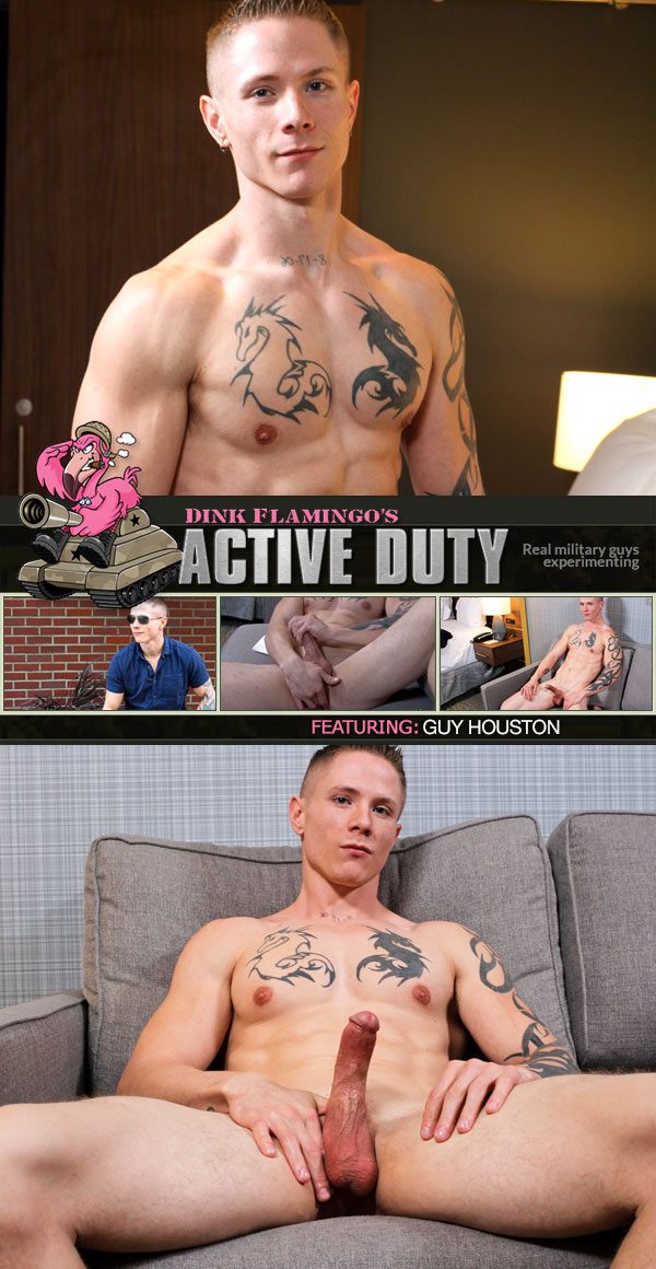 Guy Houston (New Recruit) at ActiveDuty