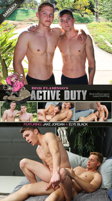 Jake Jordan Fucks Elye Black at ActiveDuty