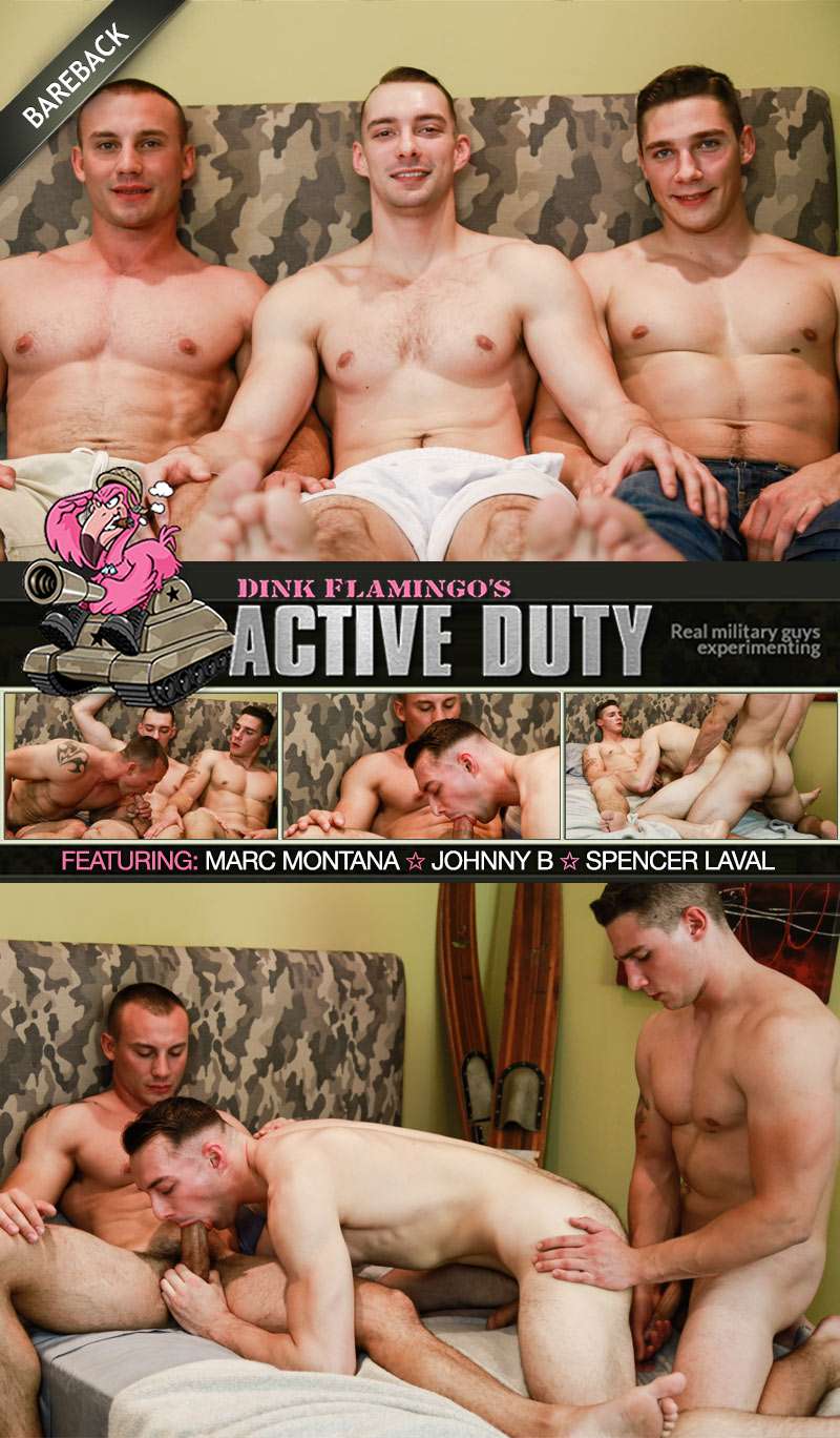 Spencer Laval and Marc Montana Tag-Team Johnny B at ActiveDuty