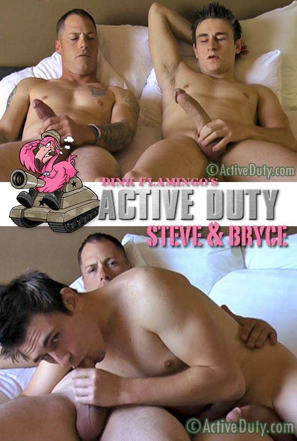 Steve Crosses the Line with Bryce at ActiveDuty