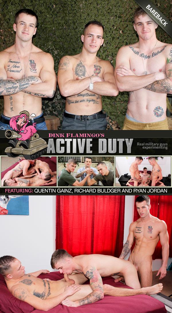 Quentin Gainz, Richard Buldger Tag-Team Ryan Jordan at ActiveDuty