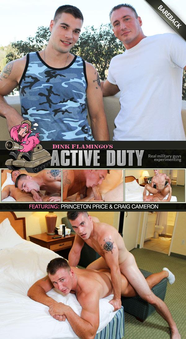 Princeton Price & Craig Cameron (Bareback Flip-Fuck) at ActiveDuty