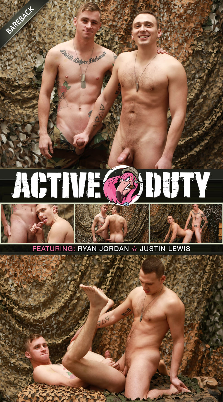 Justin Lewis and Ryan Jordan Flip-Fuck at ActiveDuty