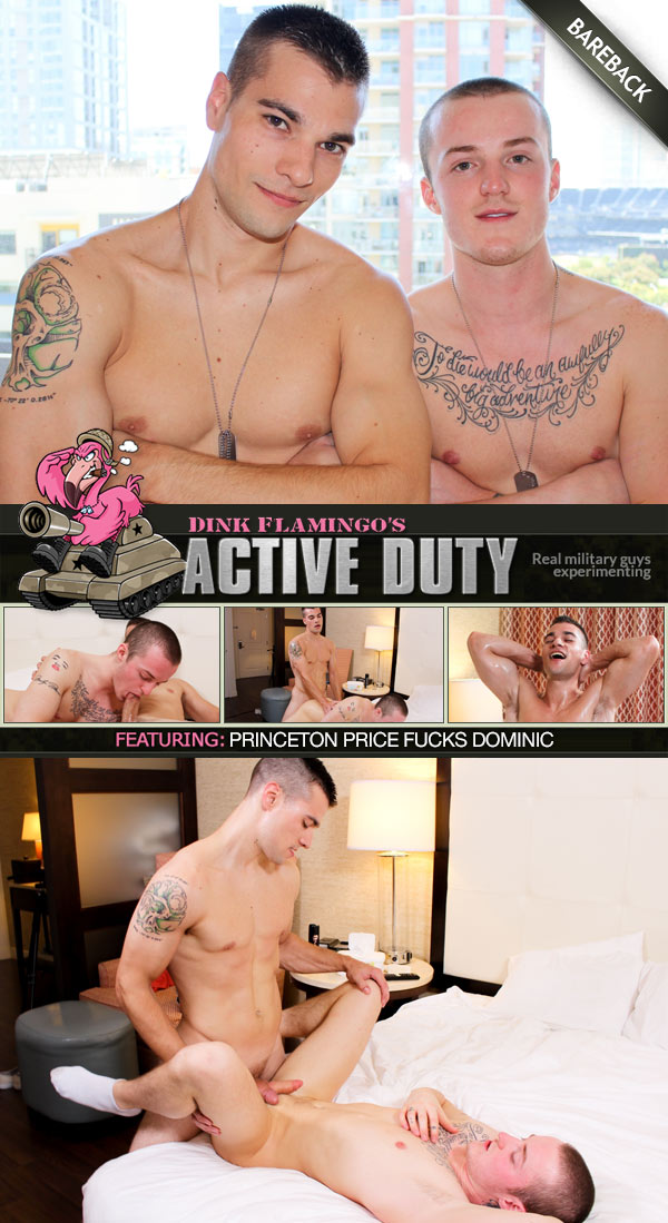 Princeton Price Fucks Dominic at ActiveDuty