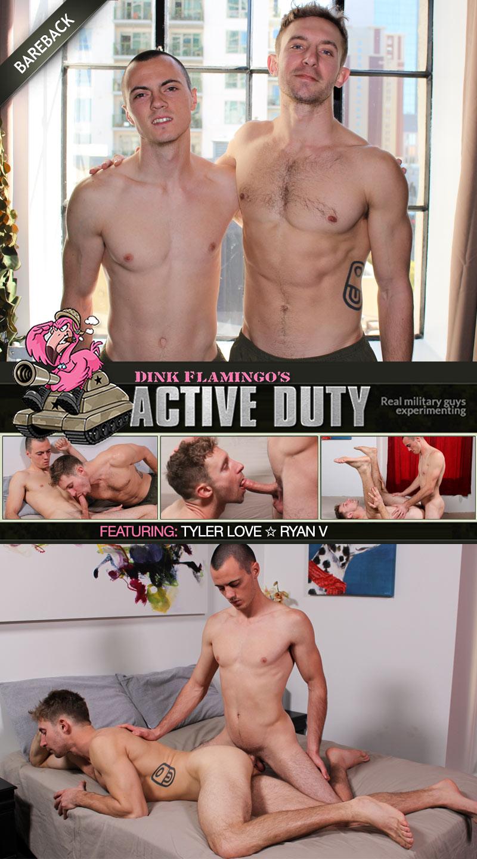 Ryan Fucks Tyler Love (Bareback) at ActiveDuty