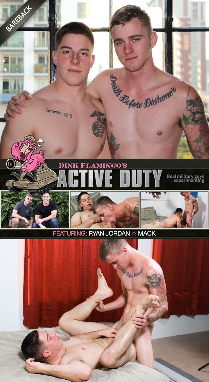 Ryan Jordan Fucks Mack (Bareback) at ActiveDuty