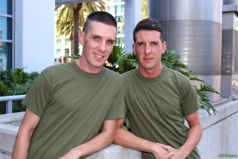 Twin Brothers Michael Stax and Jacob Stax at ActiveDuty