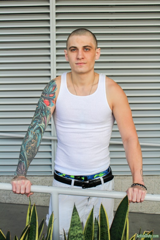 Alex Michaels (New Recruit) at ActiveDuty