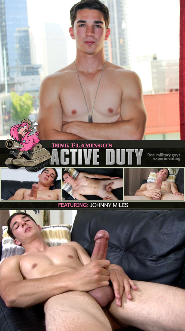 Johnny Miles (New Recruit) at ActiveDuty