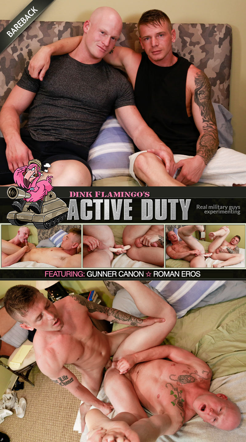 Gunner Fucks Roman Eros at ActiveDuty