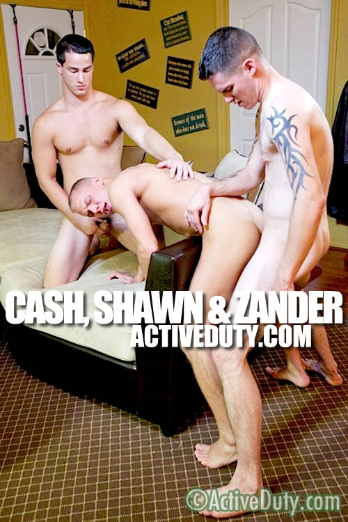 Cash, Shawn & Zander at ActiveDuty