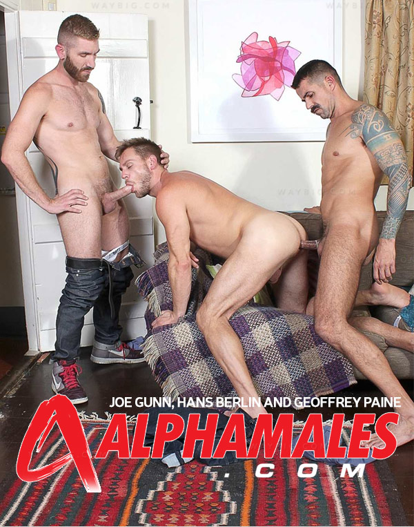 Joe Gunn, Hans Berlin & Geoffrey Paine at AlphaMales