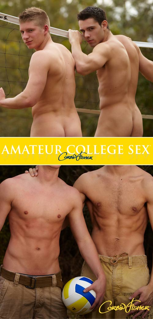 Josh & Trey's Bi Tag Team at AmateurCollegeSex