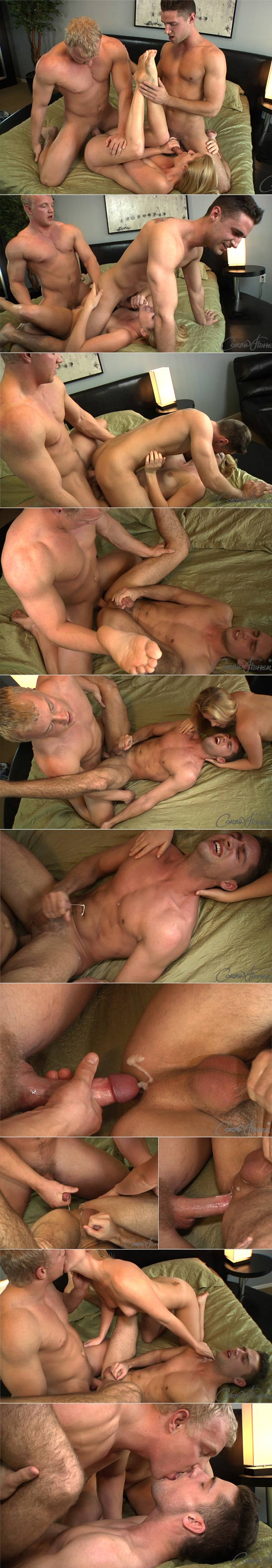 Steve Fucks Harper & Ashley at AmateurCollegeSex