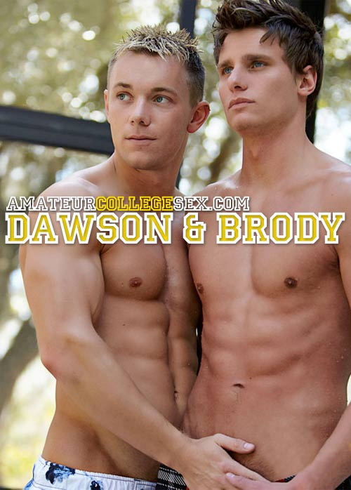 Dawson & Brody Tease Ashley at AmateurCollegeSex