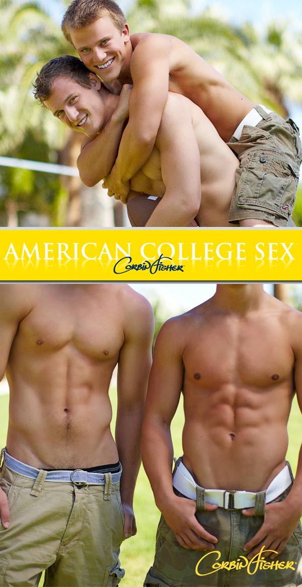Jon & Cameron's Bi Tag Team at AmateurCollegeSex