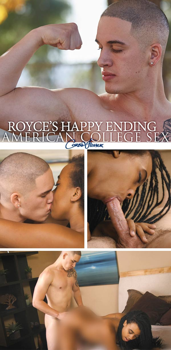 Royce's Happy Ending at AmateurCollegeSex