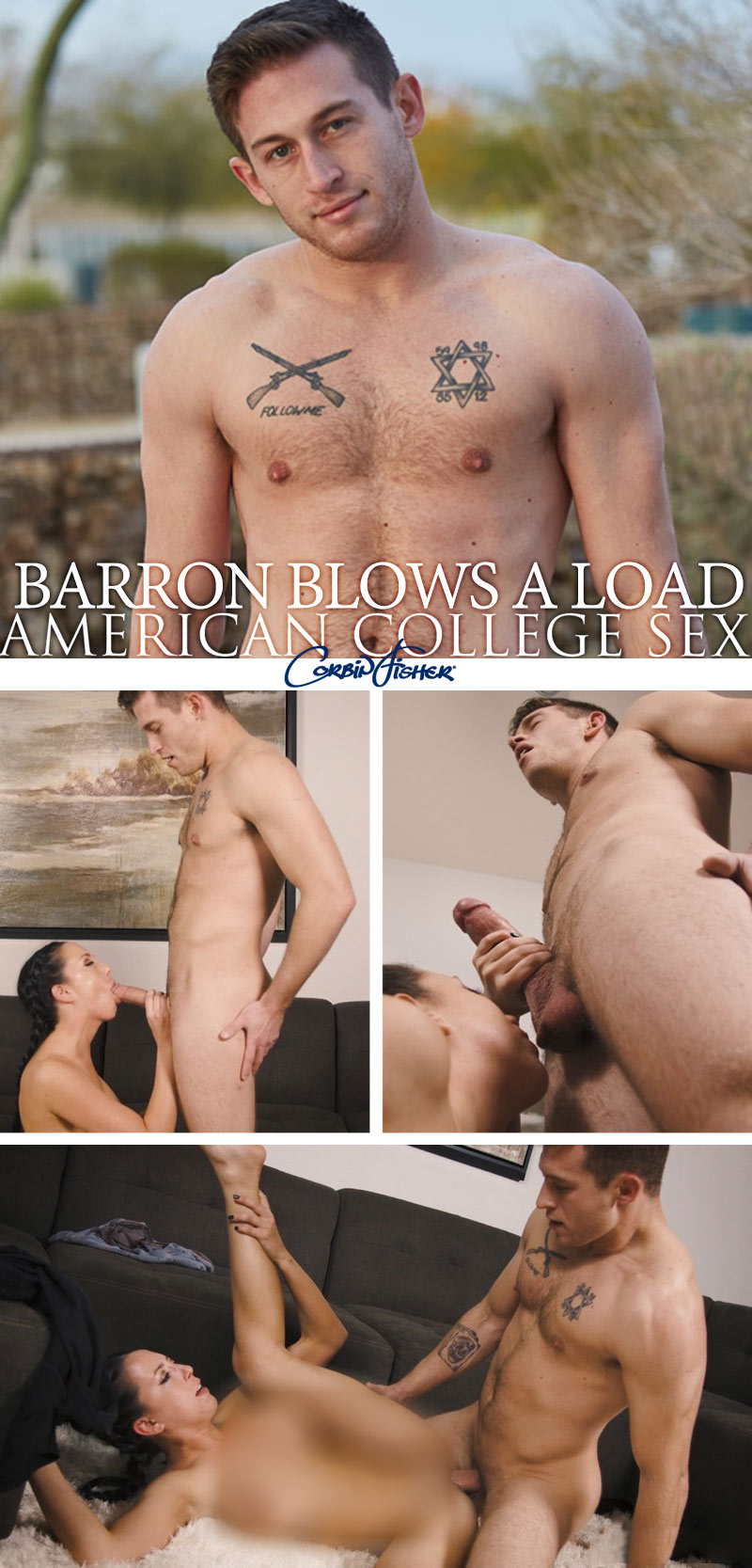 Barron Blows A Load at AmateurCollegeSex