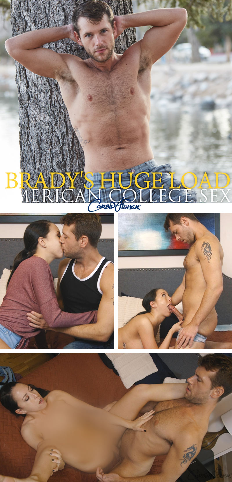Brady's Huge Load at AmateurCollegeSex
